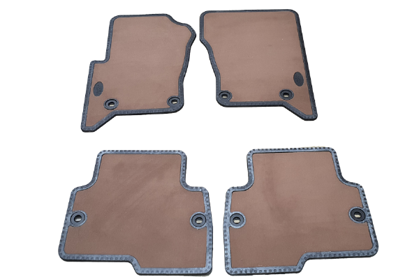 Genuine Land Rover Discovery L319 LHD Beige Carpet Mats